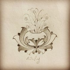 Hataî motifi. Islamic Art, Persian, Artsy, Wall Decor, Templates, Drawings, Sketching, Illustration, Pattern