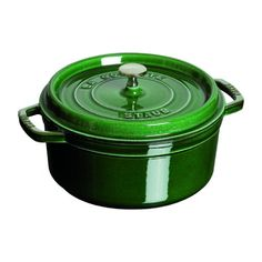Staub 8875 Quart Round Cocotte Basil >>> Be sure to check out this awesome product. (Amazon affiliate link)