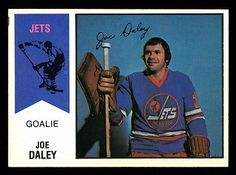 1974 75 Opc O Pee Chee  Wha #38 Joe Daley Nm Winnipeg Jets Hockey Card