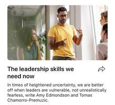 The leadership skills we need now | LinkedIn