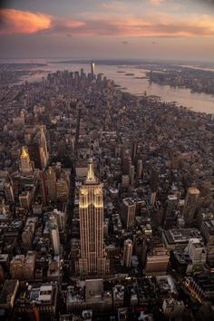 Manhattan from above by Robert Stanley @nyonair #nyc