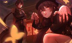 HD wallpaper: anime girls, Genshin Impact, Hutao(Genshin Impact)