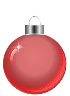 Transparent Silver Christmas Ball Clipart