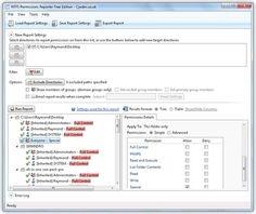 List All NTFS Permissions on Windows