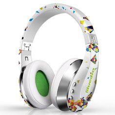 Fashion Wireless Bluetooth Headphones With Microphone HD Diaphragm Twistable Headband Surround Sound Headset fone de ouvido Headphones With Microphone, Best Headphones, Headphone With Mic, Sports Headphones, Bluetooth Headphones, Over Ear Headphones, Fashion Headphones, Beats By Dre, Surround Sound