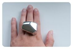 Rad! Check it, @Shilo Byrd! geometric ice ring, $21