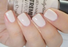 sally hansen xtreme wear-Pearl Up is an off white milky color that requires patience for proper application