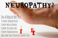 Essential Oil for Neuropathy