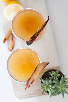 maple bourbon cocktail recipe - @mystylevita