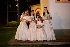 Daminhas do casamento da psicóloga Priscila Bueno e o advogado Otávio Bertolino, para 180 convidados.  Foto: Renato Milani