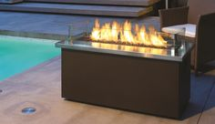 Fire Tables and Fire Place inserts found a Legends Landscape Supply in Burlington Ontario