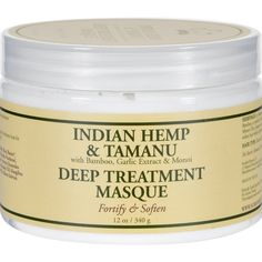 Nubian Heritage Hair Masque - Indian Hemp Tamanu - 12 oz * Click image for more details. Tamanu Oil, Organic Hair Care, Natural Hair Care, Hair Care Routine, Hair Care Tips, Best Amazon Products, Hair Masque, Star Wars