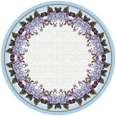 Florals 68 Inch Round Tablecloth By Betsy Drake | Products, Florals And Round  Tablecloth