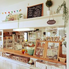 Cafe Interior, Interior Design, Cafe Counter, Japanese Kitchen, Cozy Kitchen, Vintage Kitchen Decor, Garden Shop, Kitchen Collection, Coffee Shop