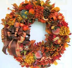 The Gallery Wall: Harvest Wreath | junkyardarts.com