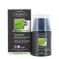 Logona mann glättende Hydrocreme 50 ml Vitamin E, Coenzym Q10, Agriculture Biologique, Fragrance Parfum, Drink Bottles, Personal Care, Beauty, Products, Shop