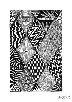 Drawing patterns Source by amvwart Doodle Art Drawing, Zentangle Drawings, Mandala Drawing, Zentangles, Zen Doodle, Doodle Art Designs, Doodle Patterns, Zentangle Patterns, Dibujos Zentangle Art