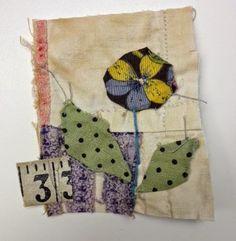 Thread and Thrift - Mandy Pattullo fabric collage