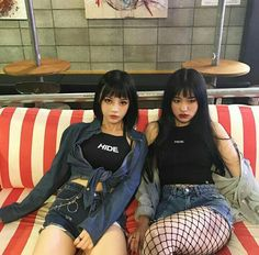 Korean friend goals icons tumblr/ulzzang @안느