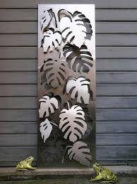 Image result for laser cut steel leaves