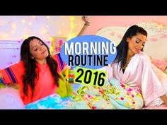 Morning Routine 2016 | Winter Break!! Niki and Gabi - YouTube