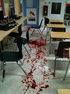 oh no, bloody office!