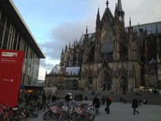 Dom in Cologne Thalys Train, Train Journey, Cologne, Barcelona Cathedral, Amsterdam, Building, Travel, Viajes, Buildings