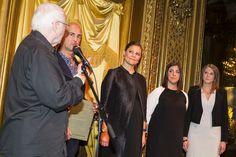 Princess Victoria attended the scholarship presentation ceremony of Micael Bindefeld Foundation, Jan. 27, 2016