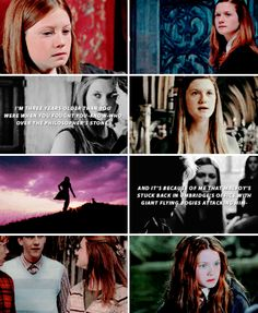 Strong and Independant Harry Potter Ginny Weasley, Harry And Ginny, Harry James Potter, Harry Potter Quotes, Harry Potter Universal, Harry Potter Characters, Harry Potter Fandom, Hermione, Bonnie Wright