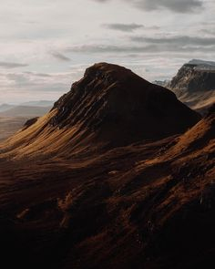 Quiraing, isle of Skye - Scotland via @poetic_mouse / Instagram