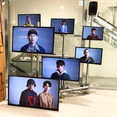"DOVER STREET MARKET GINZA, Tokyo, Japan, ""The Video Installation"", for Gosharub Chinskiy, pinned by Ton van der Veer"