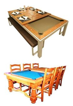 modern furniture, billiard tables transformer ideas for small spaces