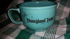 Turquoise Fiesta® Dinnerware Disneyland Hotel Stromboli's Jumbo Mug. Made by Homer Laughlin China Company | eBay