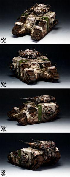 Death Guard  Sicaran Battle Tank