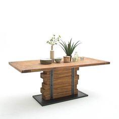 Design Esstisch aus Teak Massivholz Metall Jetzt bestellen unter: https://moebel.ladendirekt.de/kueche-und-esszimmer/tische/esstische/?uid=446e332f-e617-5e34-9b69-6b771c055c5e&utm_source=pinterest&utm_medium=pin&utm_campaign=boards #tischgestell #designertische #vollholztisch #esstische #designertisch #esstisch #designer #massiv #echtholztisch #tische #kueche #küchentisch #massivholz #essenstisch #massivholztisch #design #tisch #esszimmertisch #eßtisch #esszimmer #holztisch