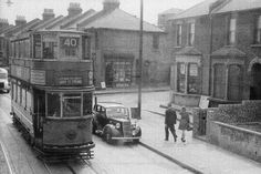 Woolwich Road, Charlton 1951 London History, Local History, Family History, Charlton London, London Bus, London Transport, Vintage London, Pictures Of People, N21