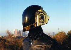 Daft Punk Motorcycle Helmet - Visordown, Um, yes please! Motorcycle Helmets For Sale, Cool Bike Helmets, Motorcycle Helmet Design, Motorcycle Gear, Riding Helmets, Daft Punk Unmasked, Skull Helmet, Helmet Head, Guy