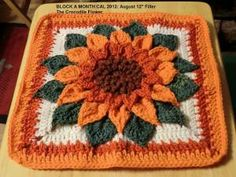 "Ravelry: Berniece's Block A Month 2012: August 12"" Filler FREEBIE. WOW!!! Thanks so for sharing xox by denise.su"