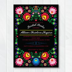 Fiesta Invitation Cinco de Mayo Party Mexican Invitation