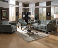 Best Brave Grey Modern Living Room Ideas With Dark Faux Leather 400 x 300