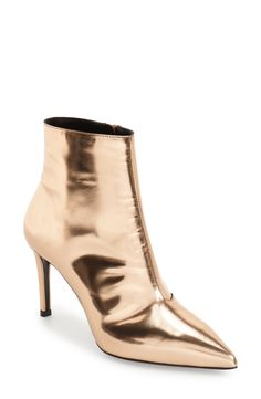 Balenciaga 'All Time Mirror Effect' Pointy Toe Bootie (Women) available at #Nordstrom