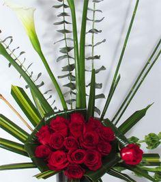 Rosas Pasión Rouge   Florerias DF   Arreglos Florales   Flores a domicilio   Floristeria  