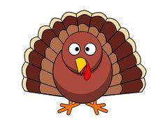 Turkey #Thanksgiving #clipart