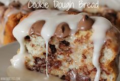 ~Cookie Dough Bread! | Oh Bite It (eggless)