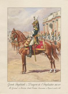 French; Imperial Guard, Empress Dragoons, Commandant of the Regiment, General de Division, Comte Ornano, 1813-15