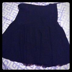Great escapes junior large black high waist skirt This skirt has shorts built into it has a high waistband and is short but flowing size large in like juniors or kids actually very cute an acrylic spandex blend Great escapes Skirts Circle & Skater