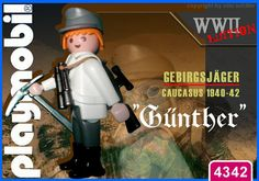 """Gebirgsjaeger """"Günther"""" // The image and figures do not necessarily reflect the opinion of Playmobil. #playmobilcustom"""