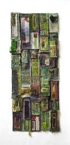 Colourscape #8 Tahune – Textile Art – Jill Miglietti
