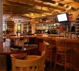 The Bar at the Wild Coyote Grill in @Waterville Valley Resort Association New Hampshire