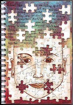 use puzzle pieces - cool idea